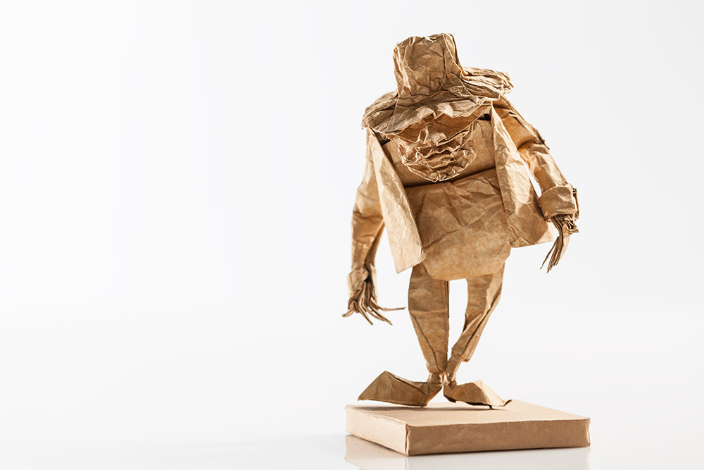 Origami Scarecrow